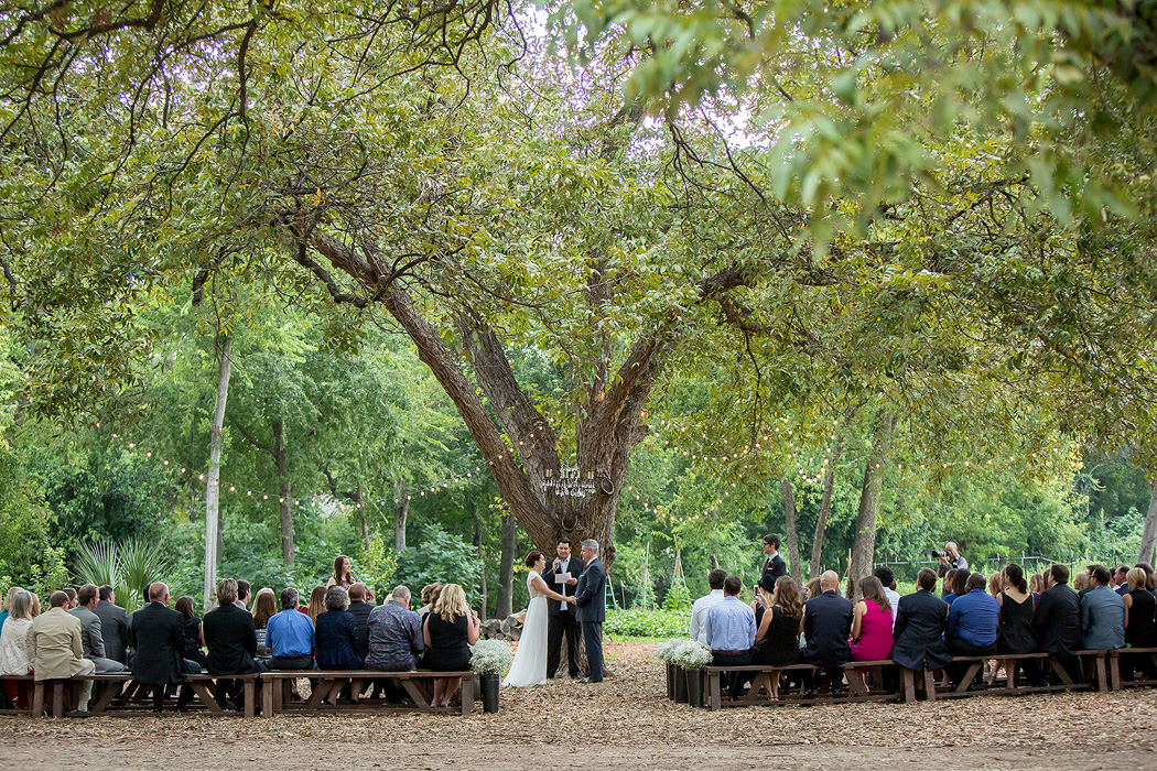 Austin Urban Farm Wedding Ceremony