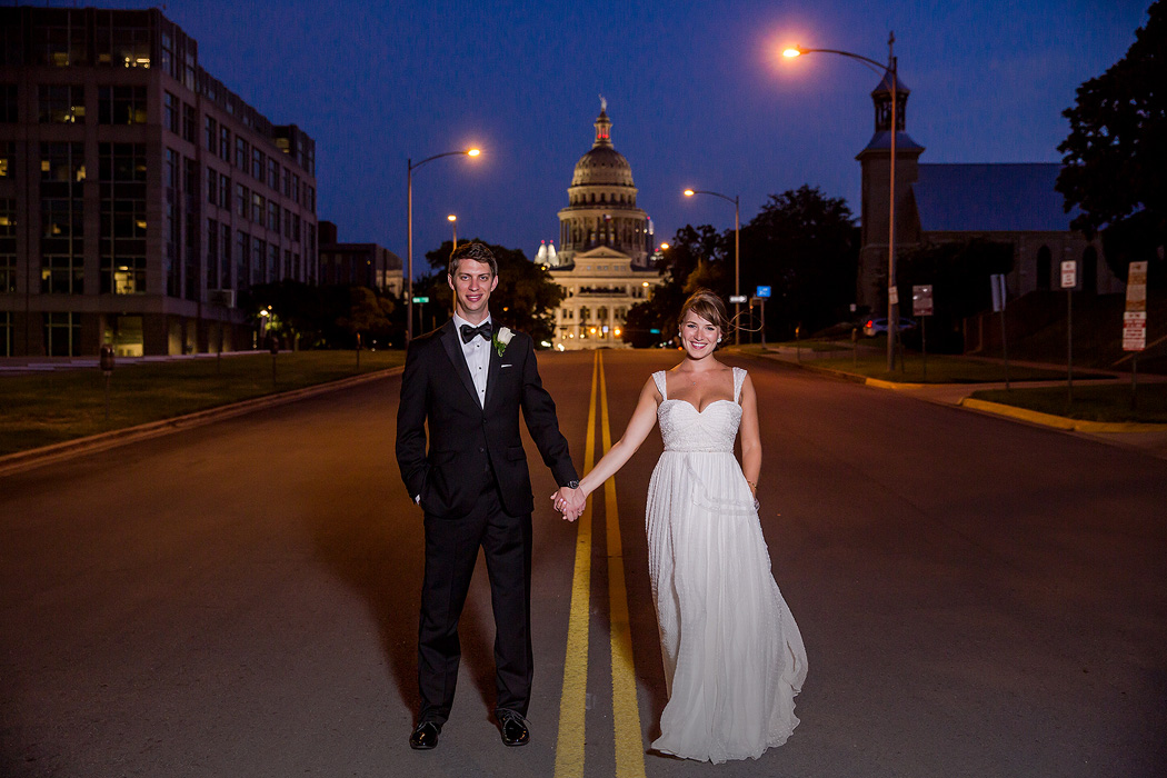 Congress Avenue Austin Wedding Photography