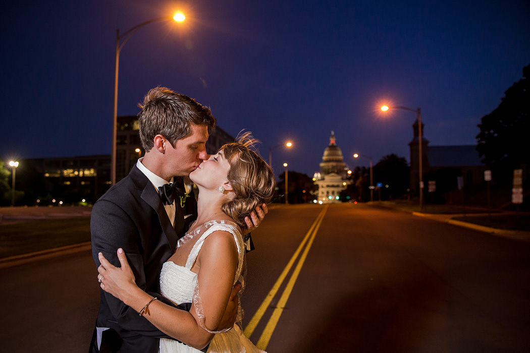 Congress Avenue Austin Wedding Photographers