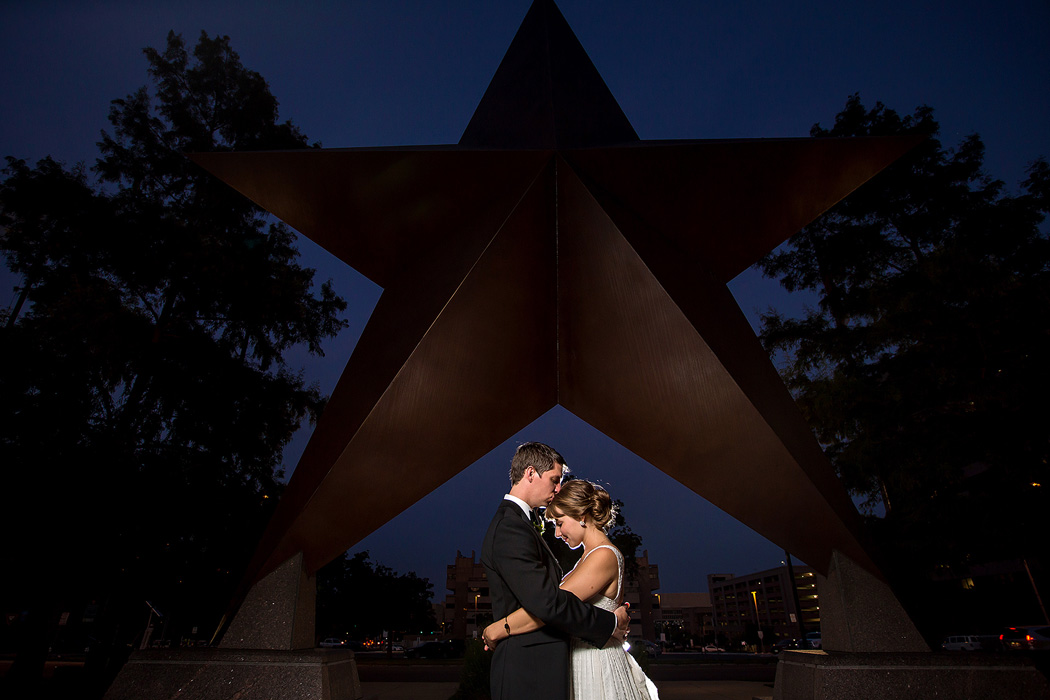 Bullock Museum Wedding Photography