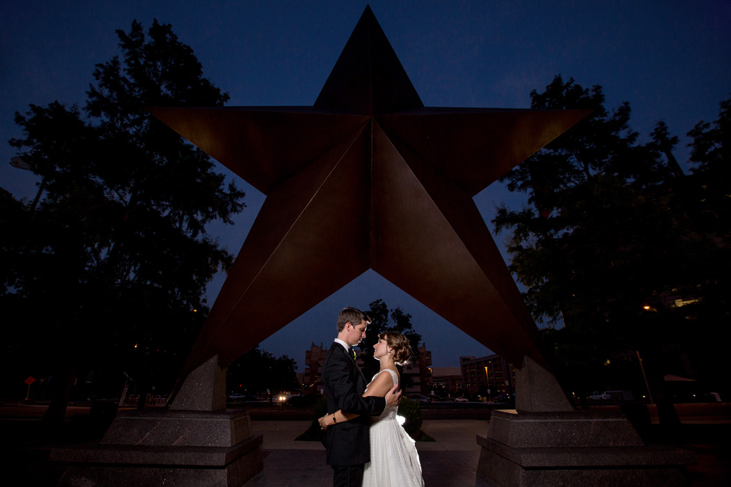 Bullock Museaum Wedding Photographers Star