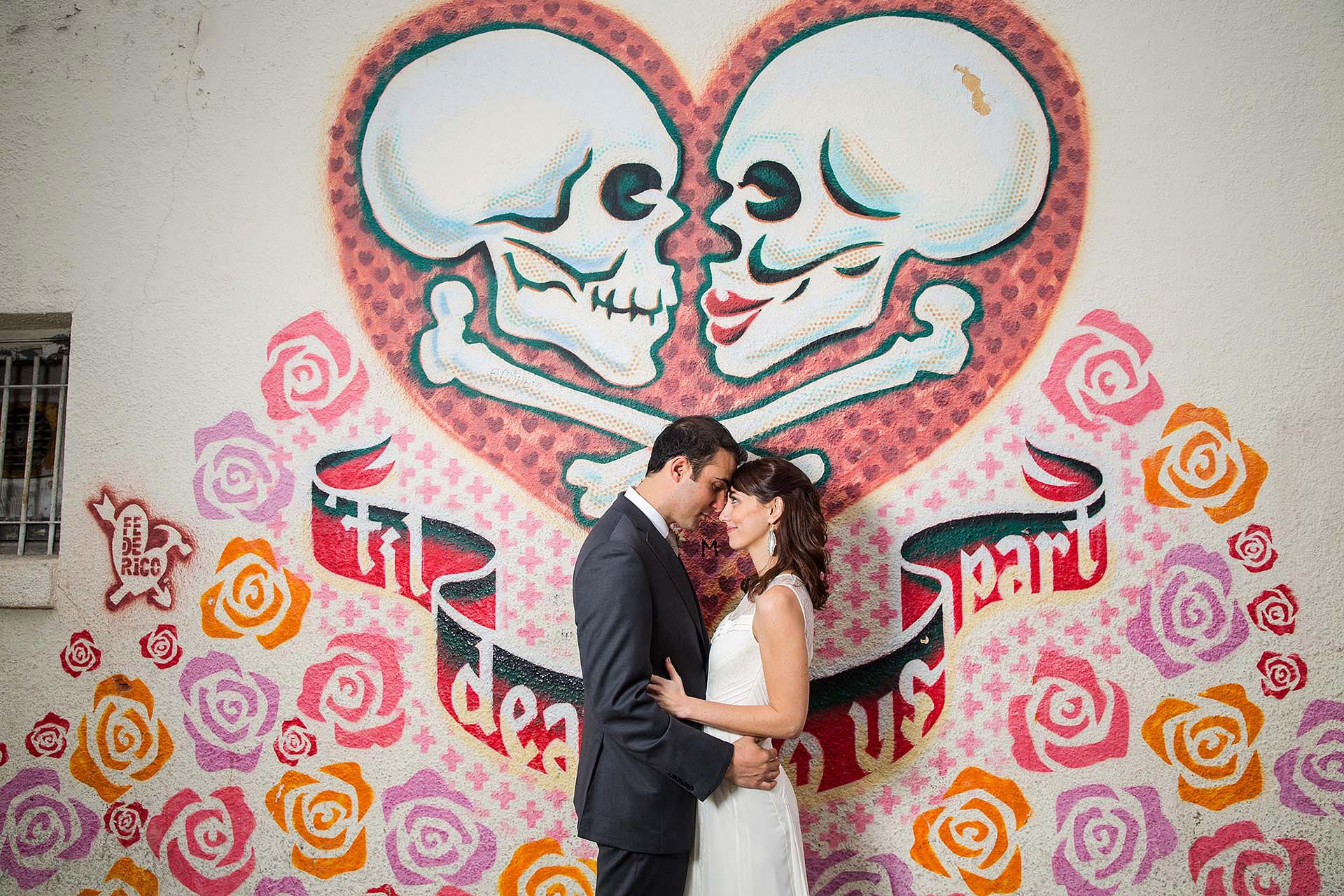 Austin Murals Wedding Photographers