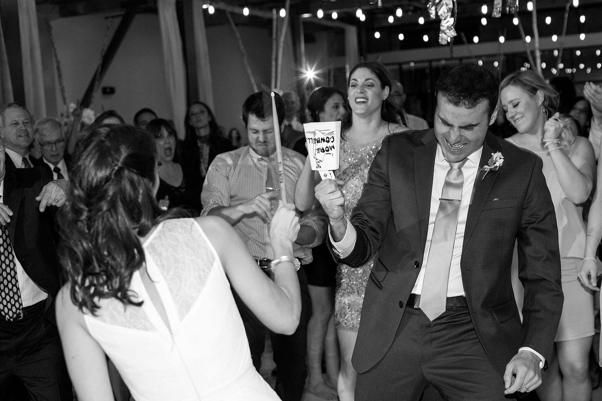 Austin Wedding Photographer Cowbell