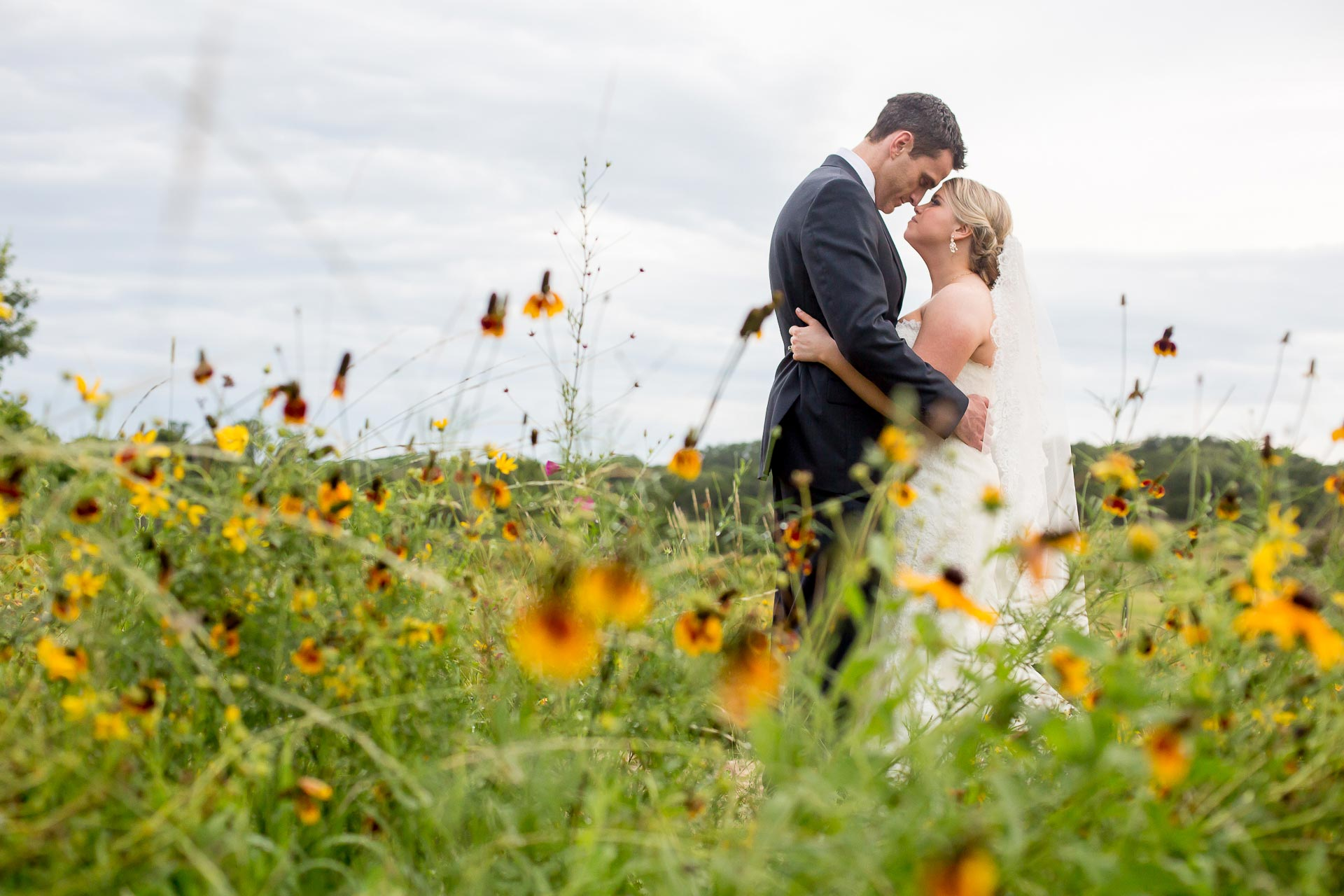 Texas Hill Country Wedding Wildflowers