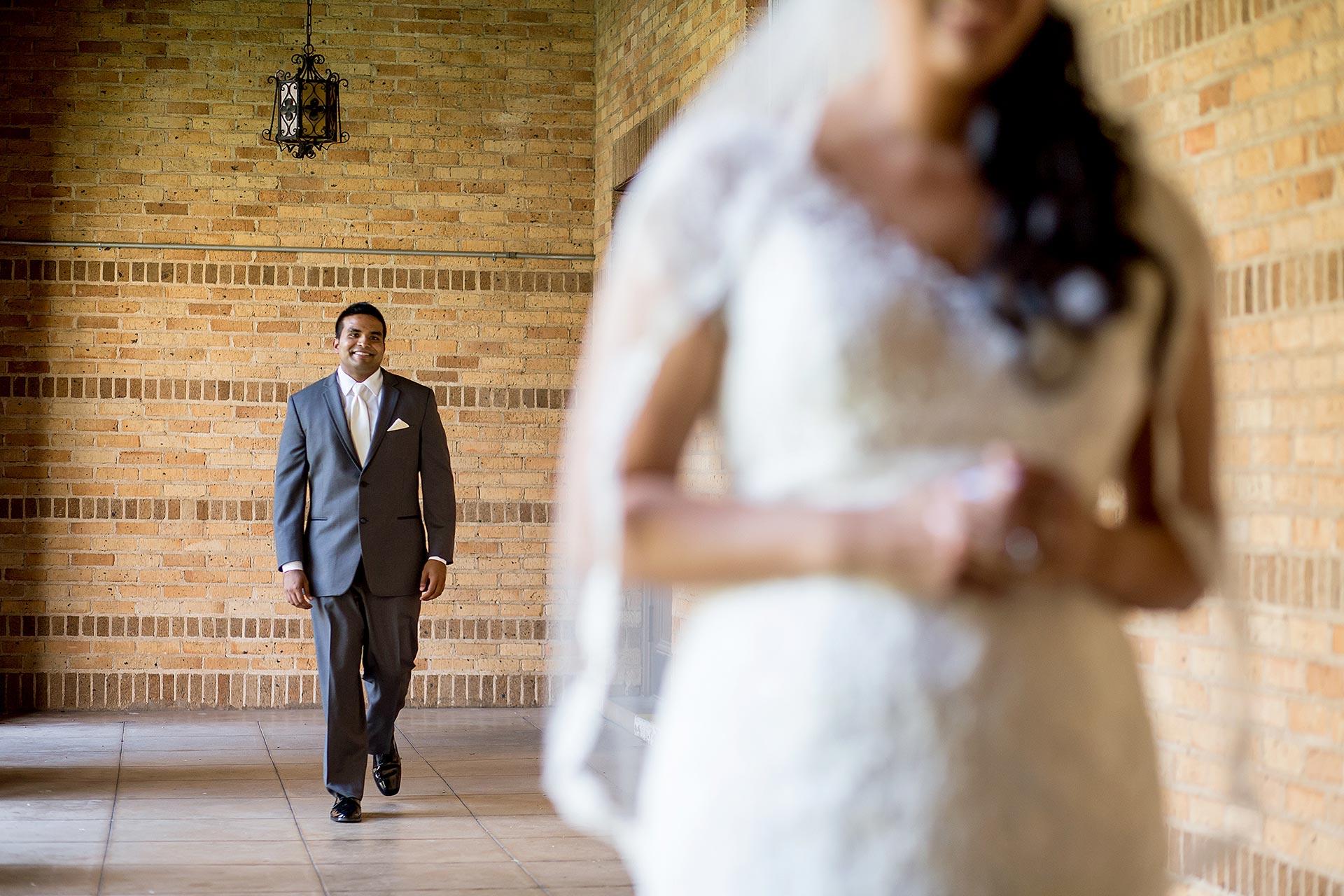 Austin Wedding First Look