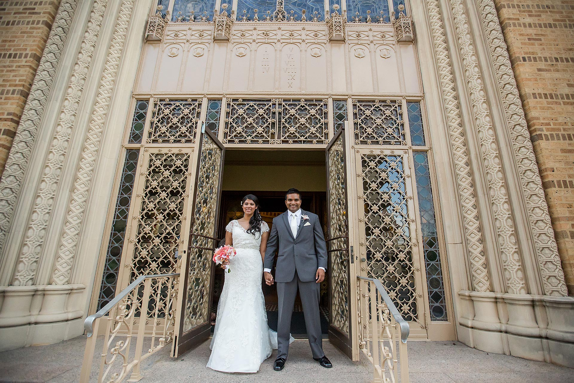 Downtown Austin Church Wedding
