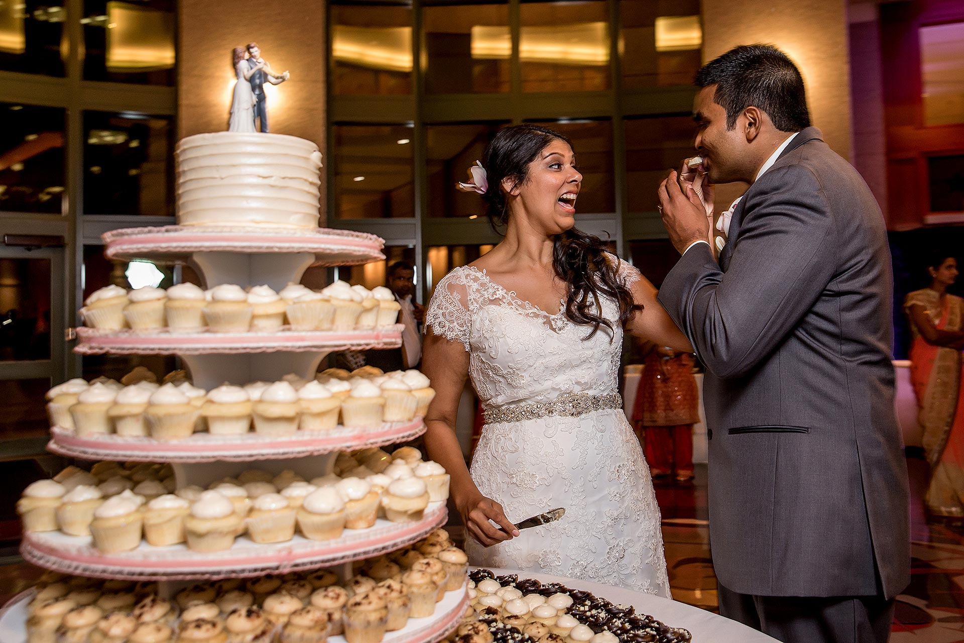 Downtown Austin Wedding Cake