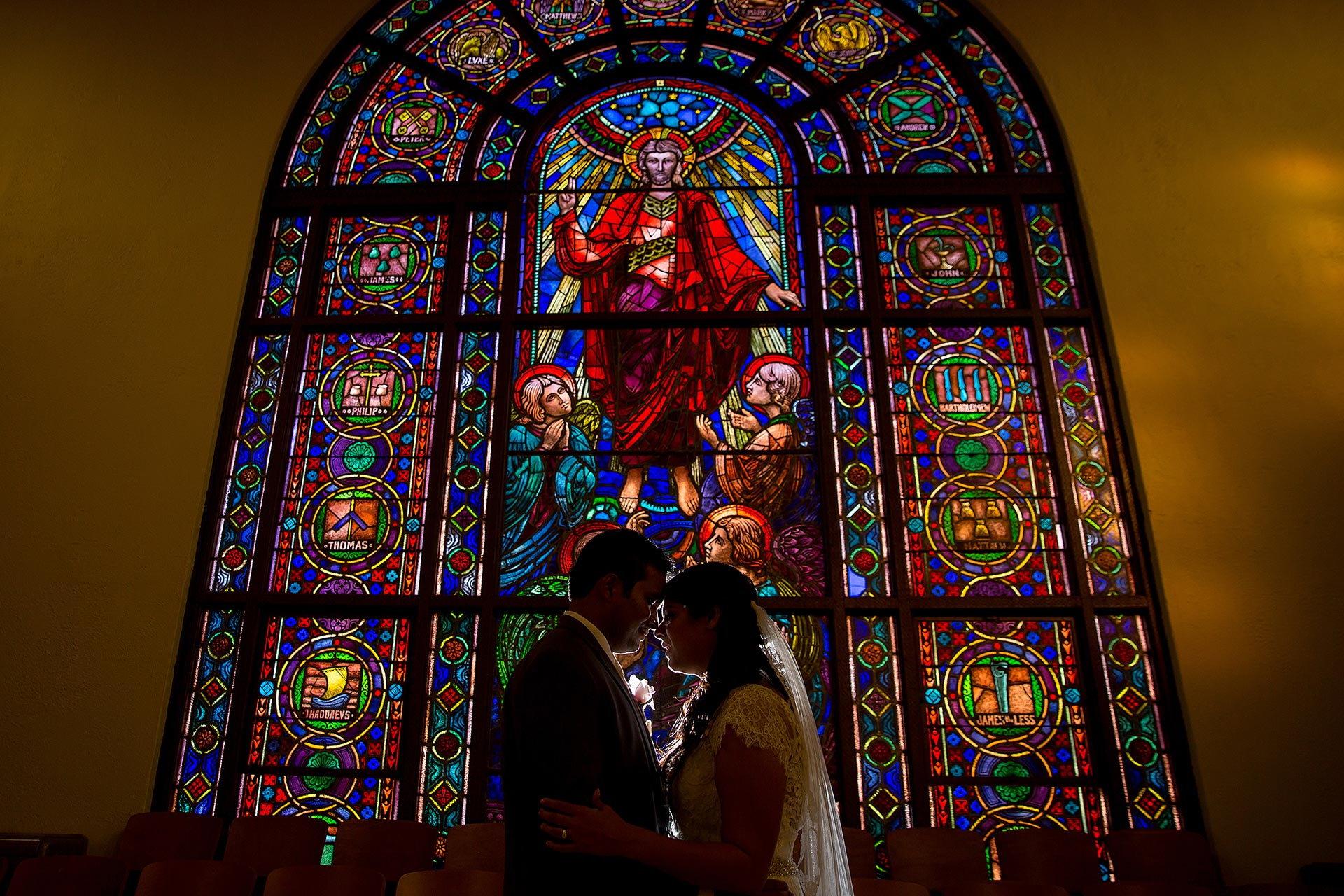 Austin Stained Glass Wedding