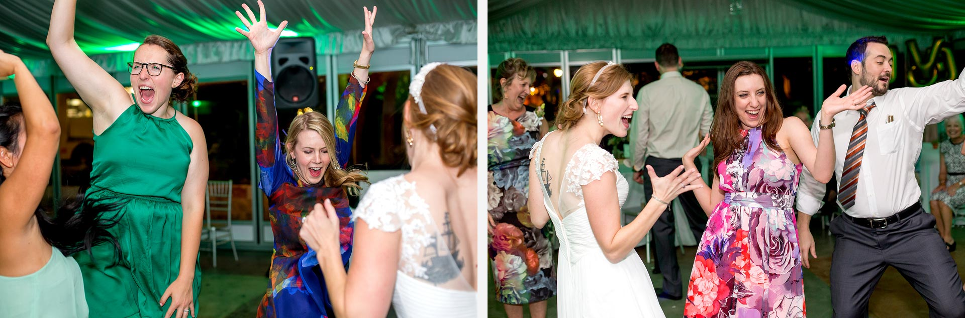 Dancing at Hummingbird House Wedding