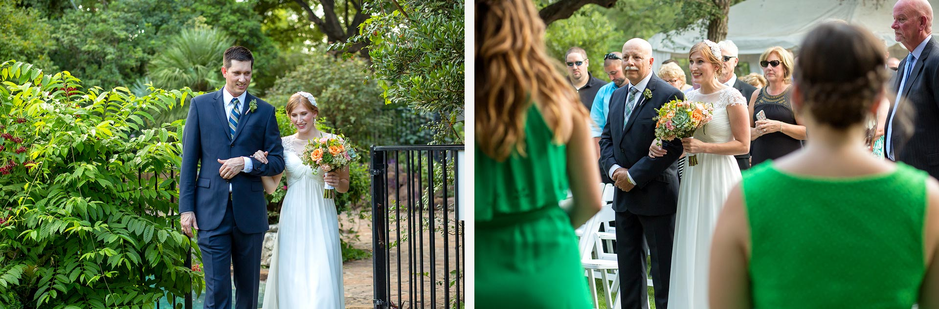 Hummingbird House Wedding Ceremony