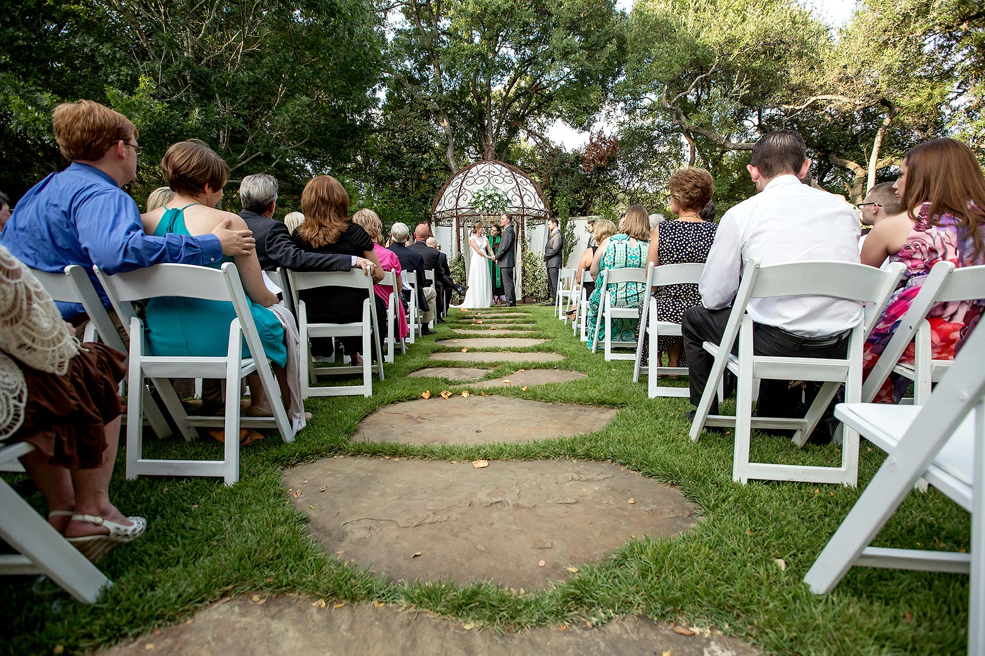 Outdoors Austin Wedding