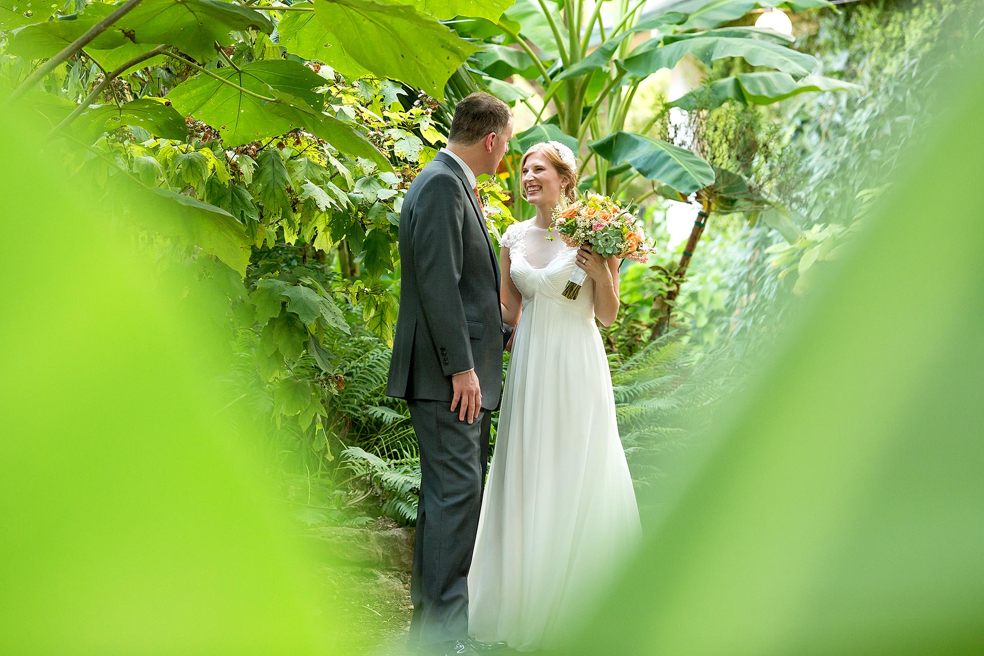 Lush Green Austin Wedding