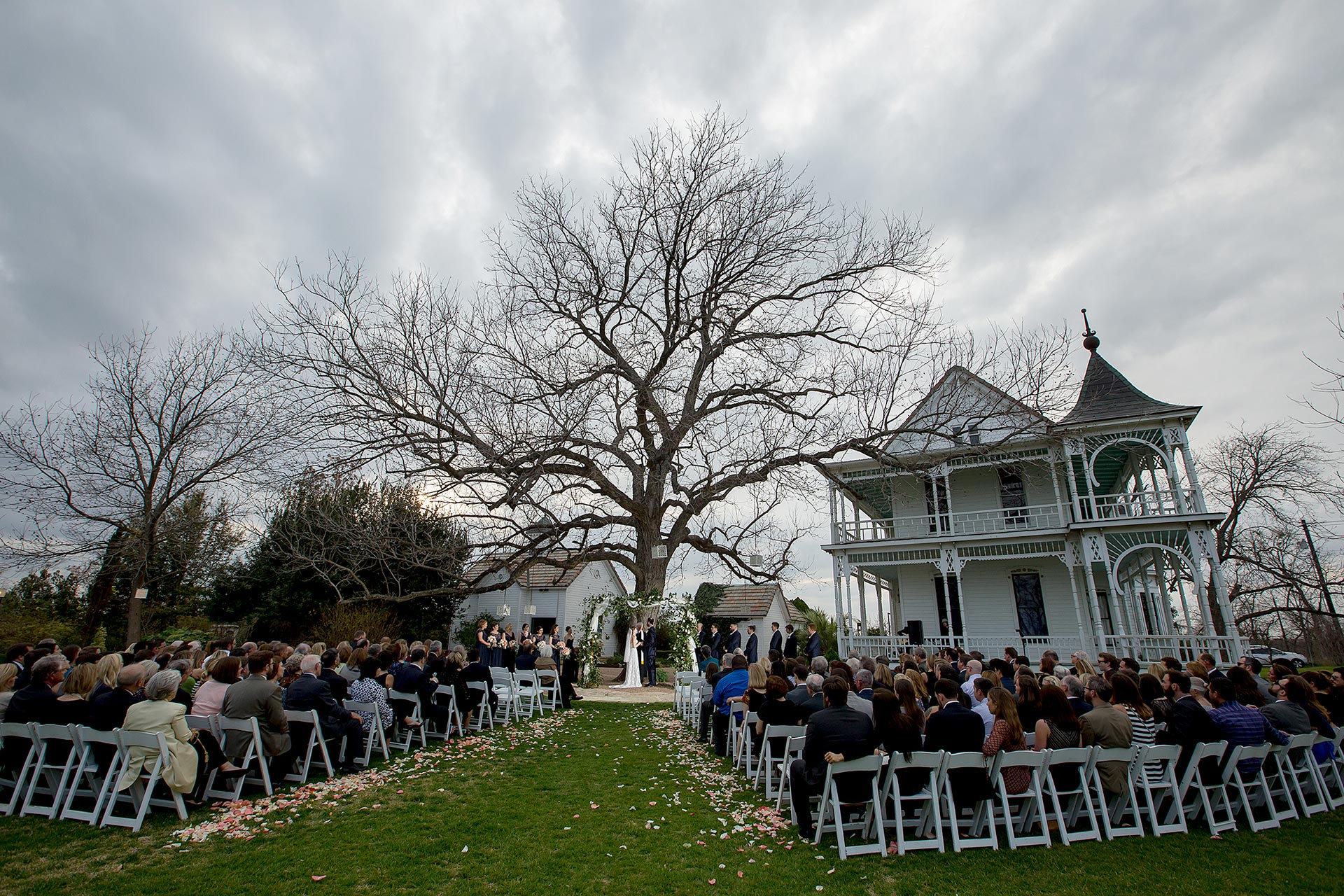 Barr Mansion Wedding Ceremony