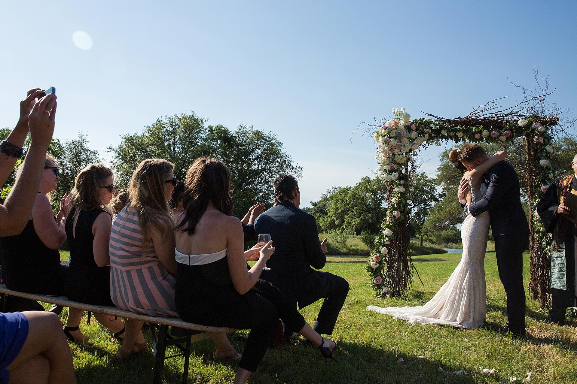 Wedding Photographers at Creek Haus