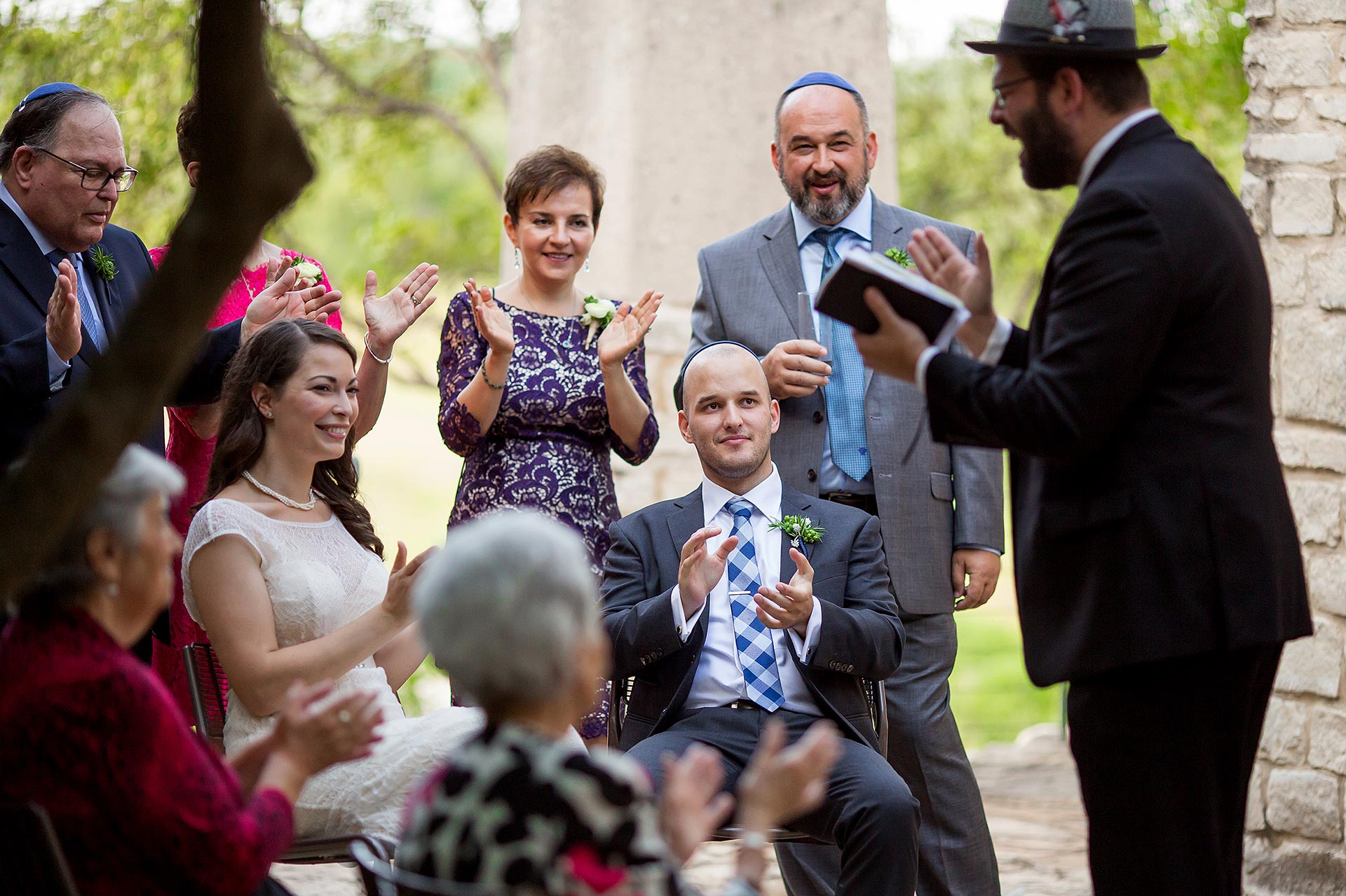 Austin Jewish Wedding Photographers