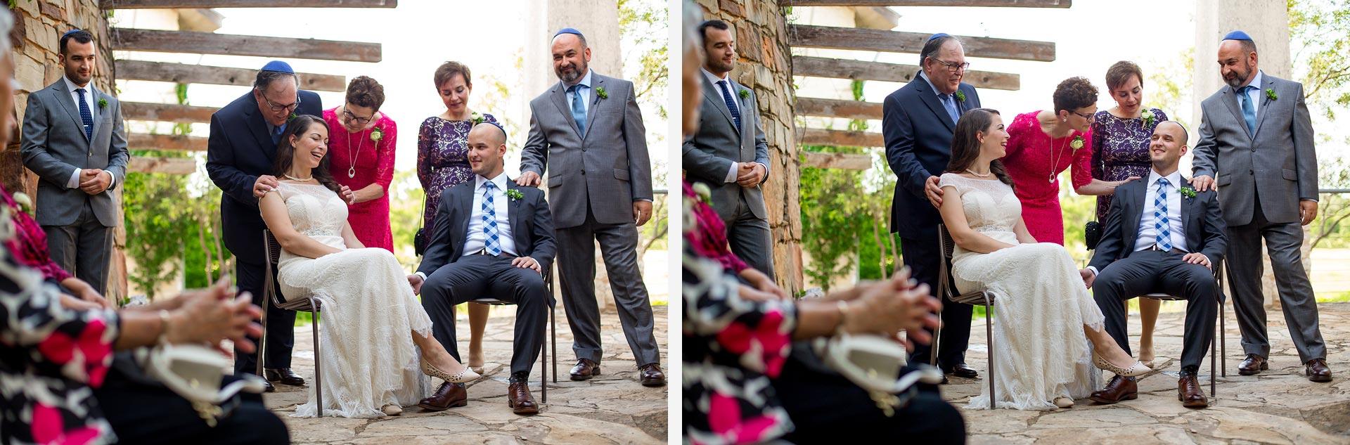 Austin Jewish Wedding Photography