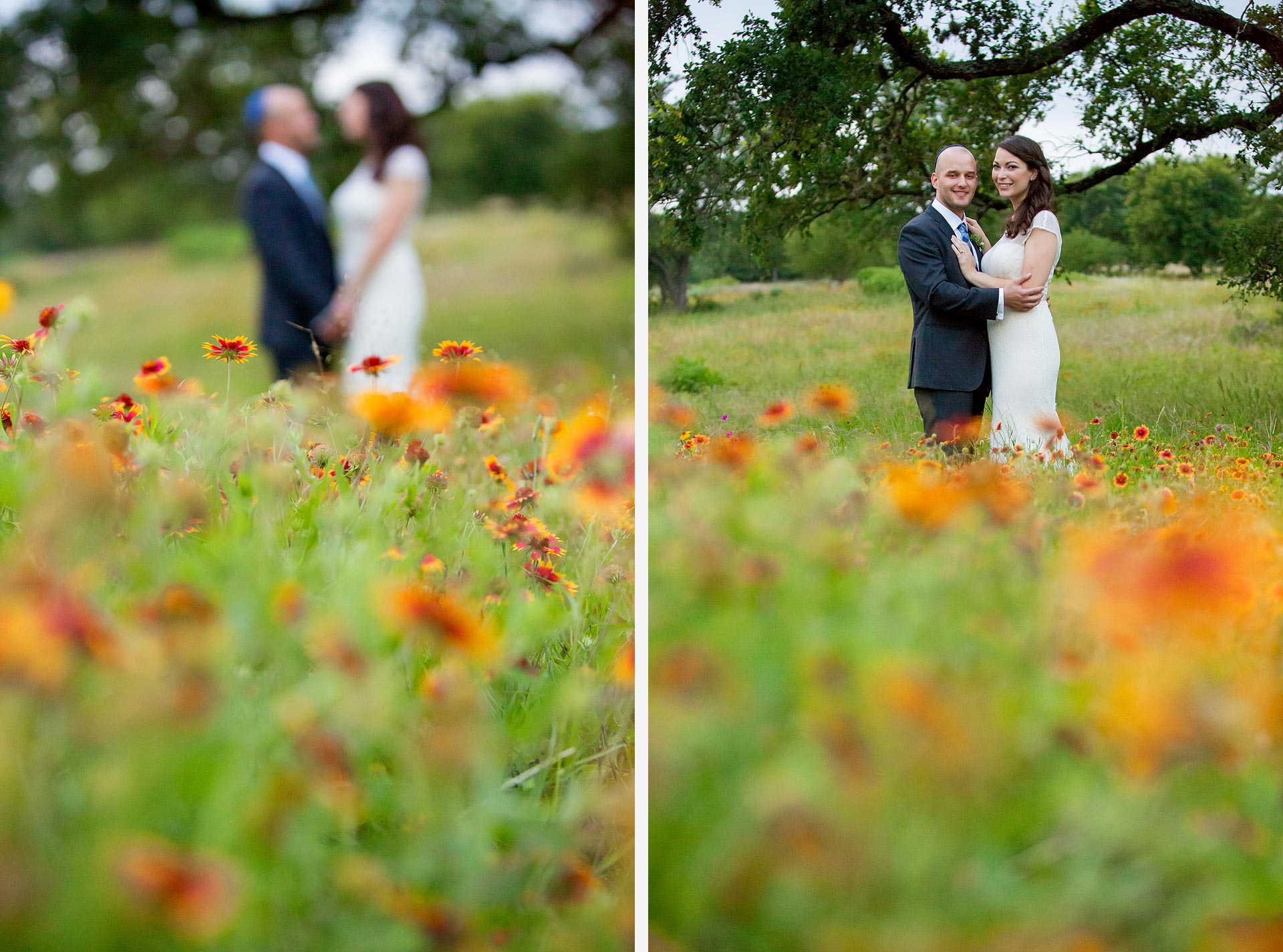 Wedding Photography in Wildflowers